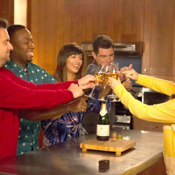 The cast of <em>New Girl</em> can't stop posting behind-the-scenes pictures, and they're making us weepy