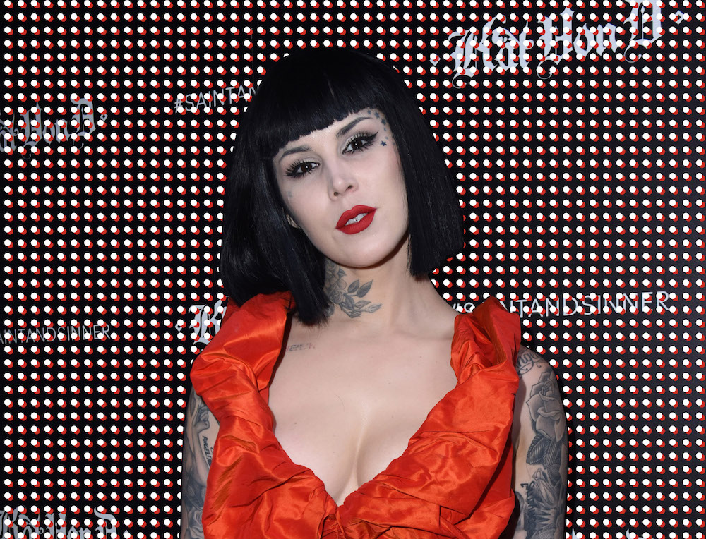 Kat Von D talks to us about her 10-year anniversary and the lipstick she's making with her husband