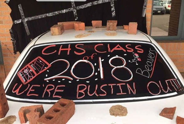 This senior prank is going viral, and it's so brilliant the students didn't even get in trouble