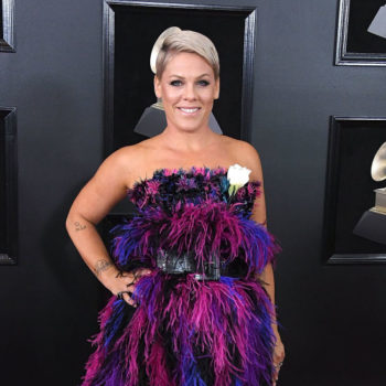 "Pink deserves an award for her response to a ""little purple troll"" who age-shamed her on Twitter"