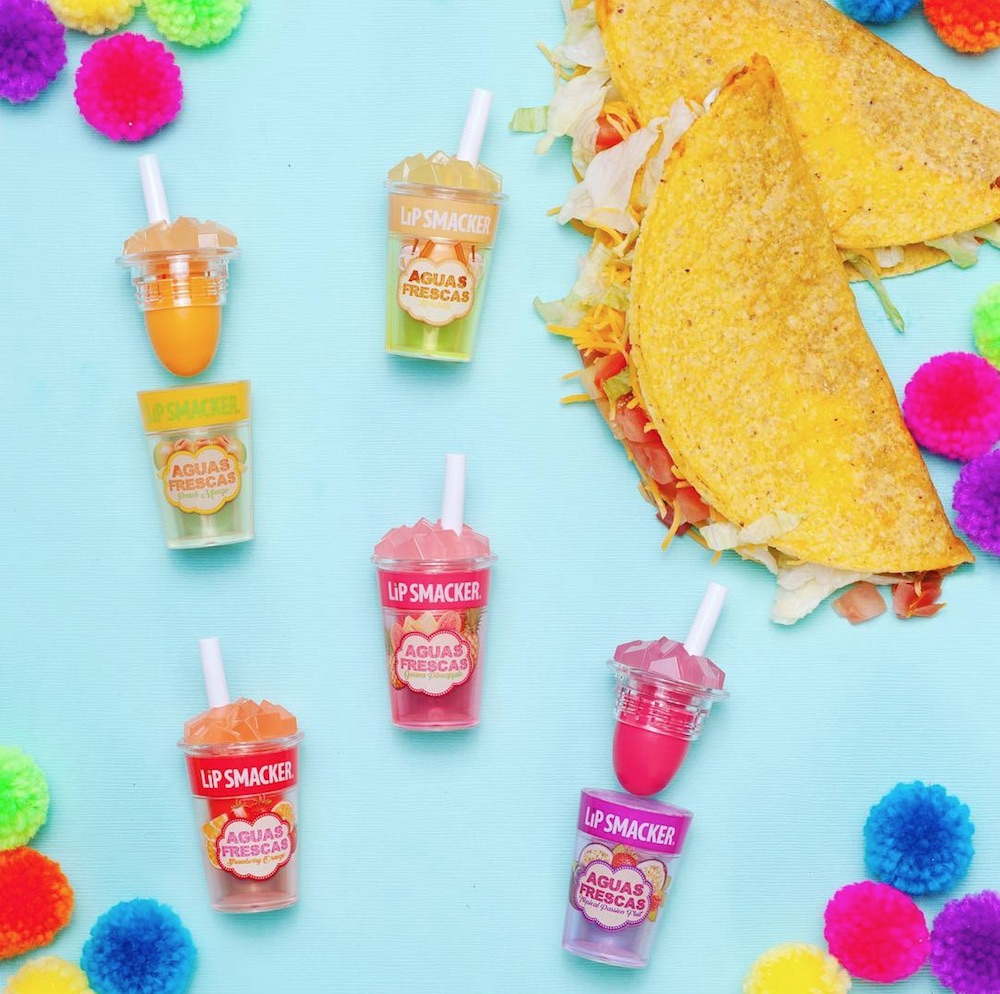 Lip Smacker's Aguas Frescas collection will make you want to hit up your local taco spot