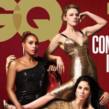 The <em>GQ</em> comedy issue has some amazing intentional Photoshop fails, so let's count them all
