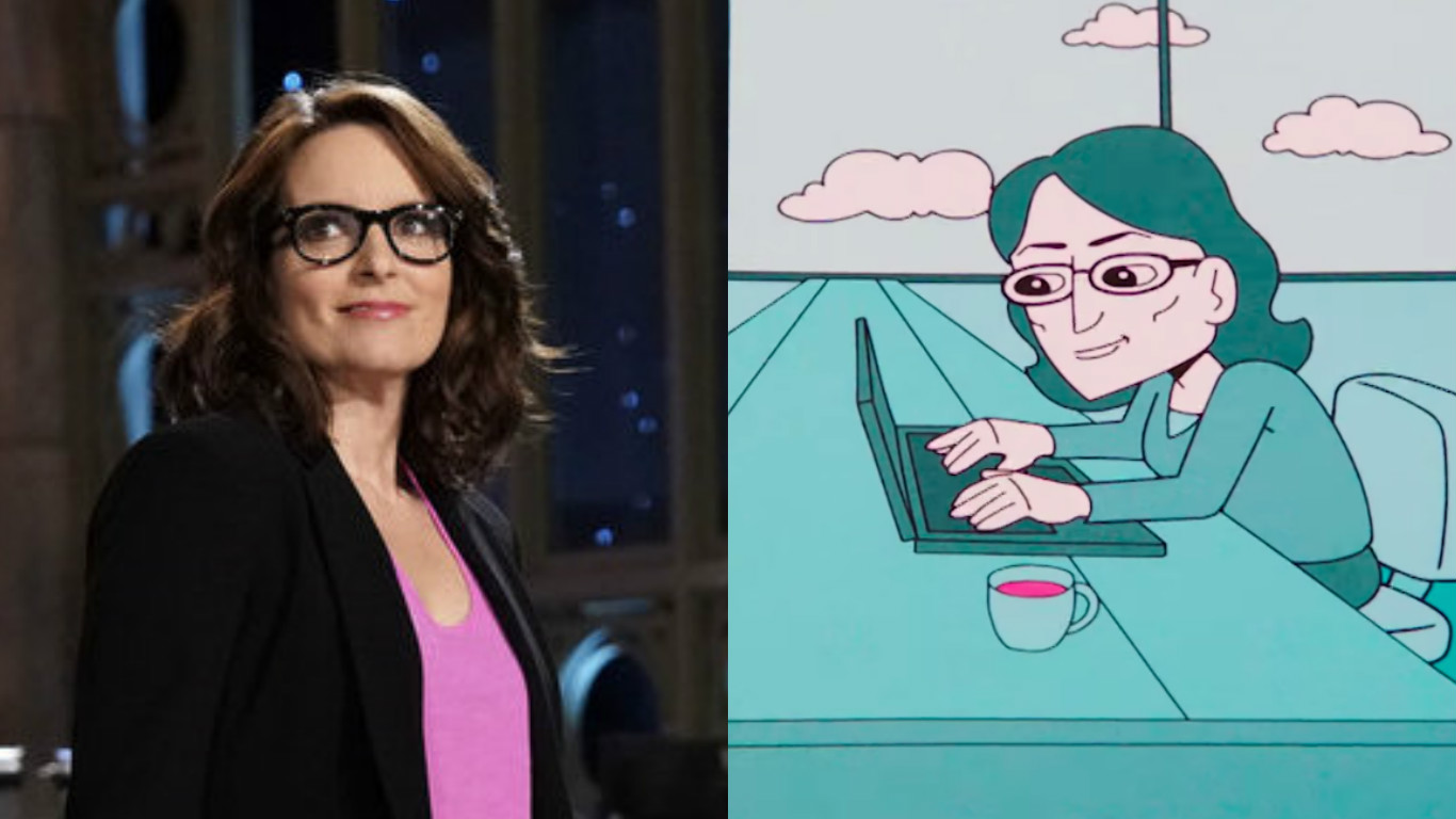 "Tina Fey gets hilariously animated — literally – for her ""SNL"" promo"