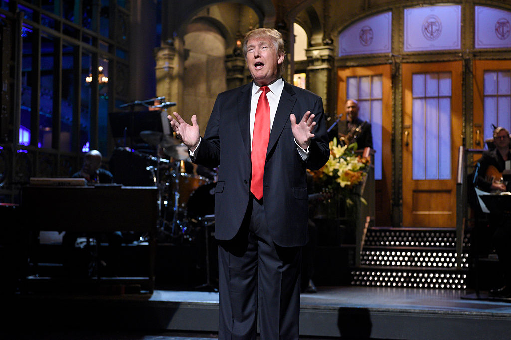 Pete Davidson says Donald Trump faked a phone call during an <em>SNL</em> table read, and yep, sounds about right
