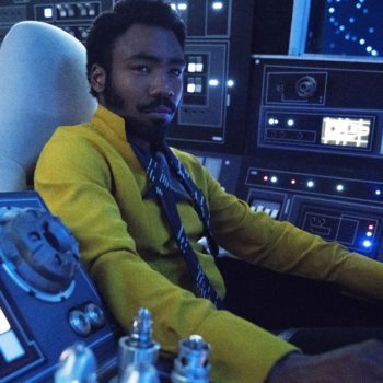 <em>Solo's</em> screenwriter suggests that Lando Calrissian is pansexual, and we're going to go ahead and accept this as canon