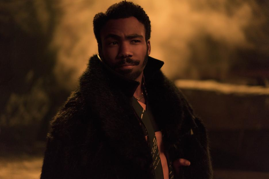 Lando Calrissian, Donald Glover's character in <em>Solo</em>, is pansexual