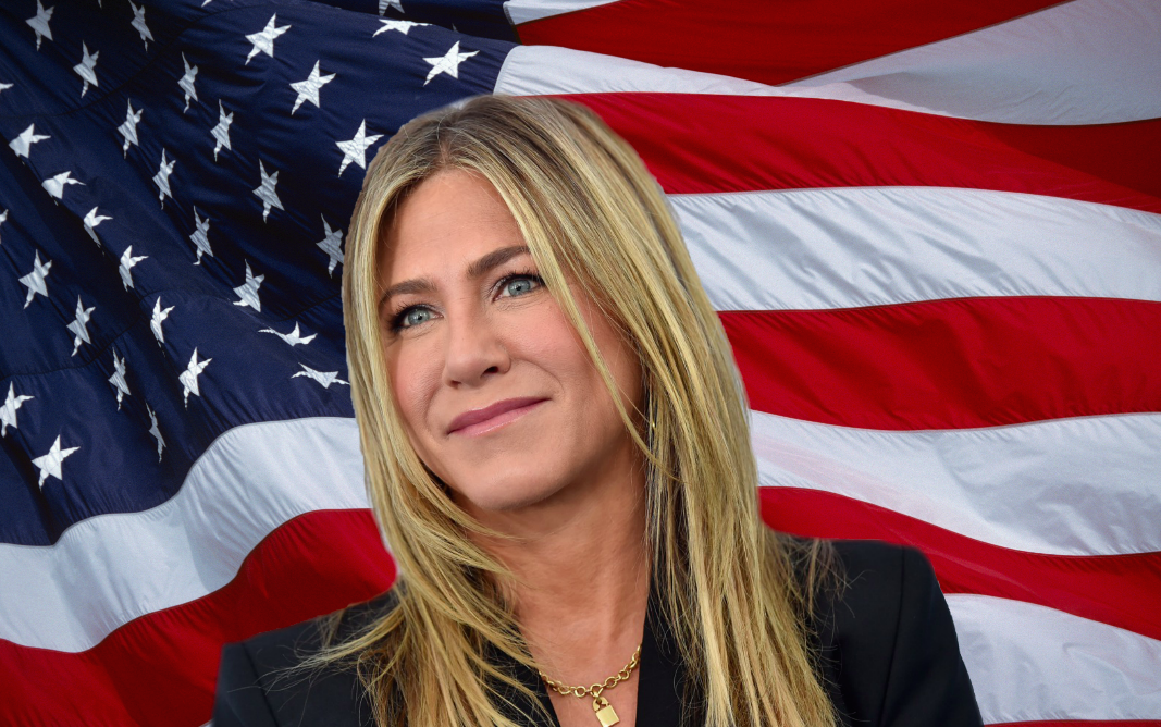 Jennifer Aniston is going to play the *president* in a new Netflix movie, and nothing but respect for HER
