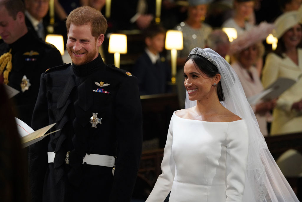 Prince Harry and Meghan Markle are officially married!