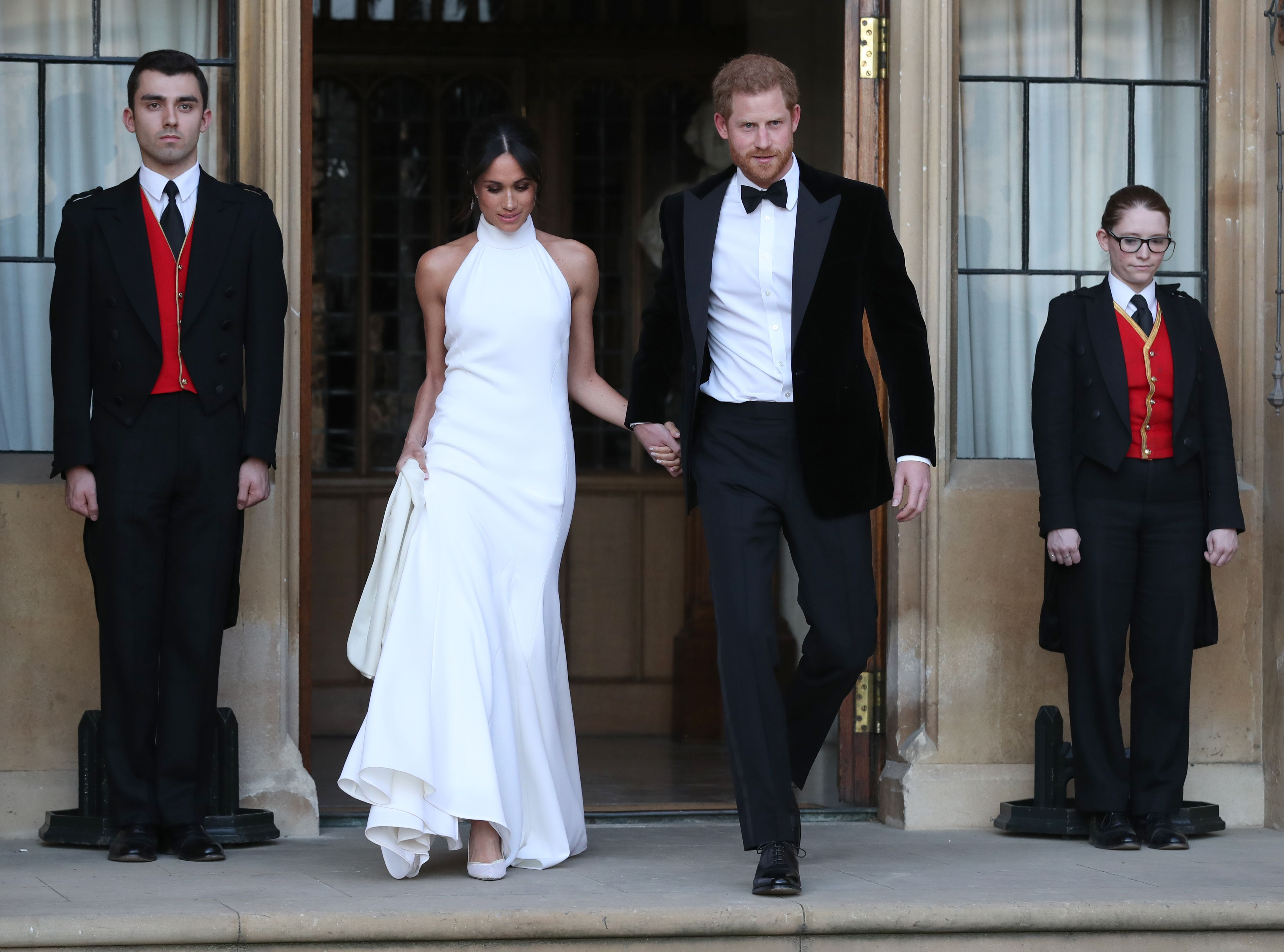 47e22c227b Royal Wedding 2018  Meghan Markle s Second Dress is a Knockout ...
