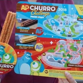 "Now you can take the ""Churro Challenge"" at Disneyland, and CHALLENGE ACCEPTED"
