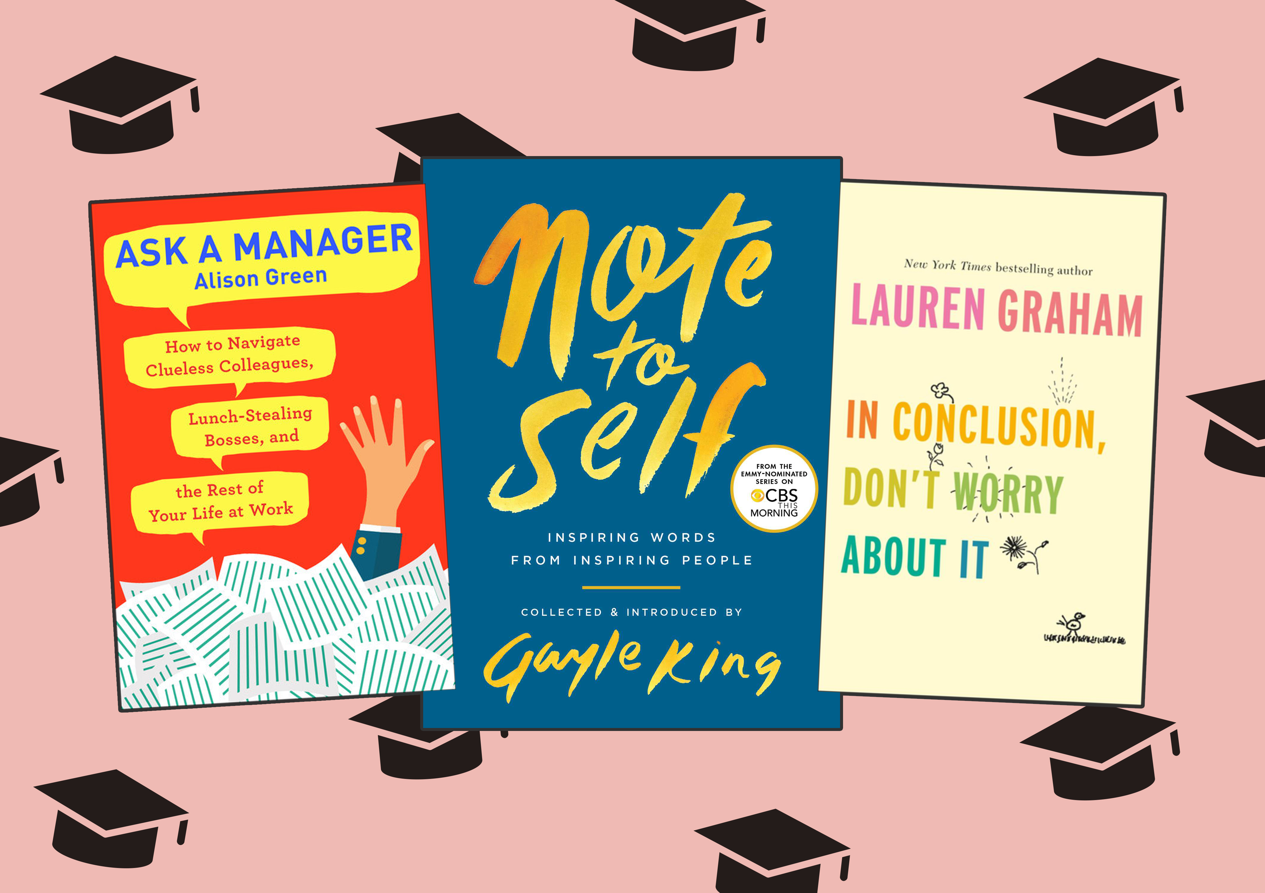 10 books that will help graduates learn how to ~adult~ in the real world