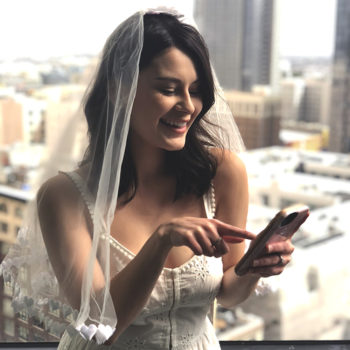A new bride tells you which beauty apps will get you the wedding hair and makeup of your dreams
