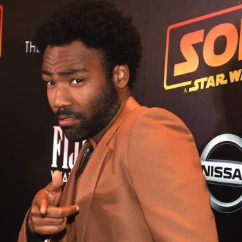 Donald Glover is totally cool with his <em>Star Wars</em> character being pansexual, in case there was any doubt