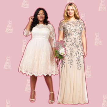 14 plus-size wedding dresses under $400 that will slay your wedding day