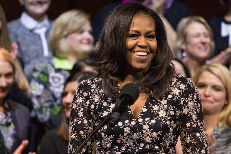 Michelle Obama launched a bomb fashion collection with inspiring messages