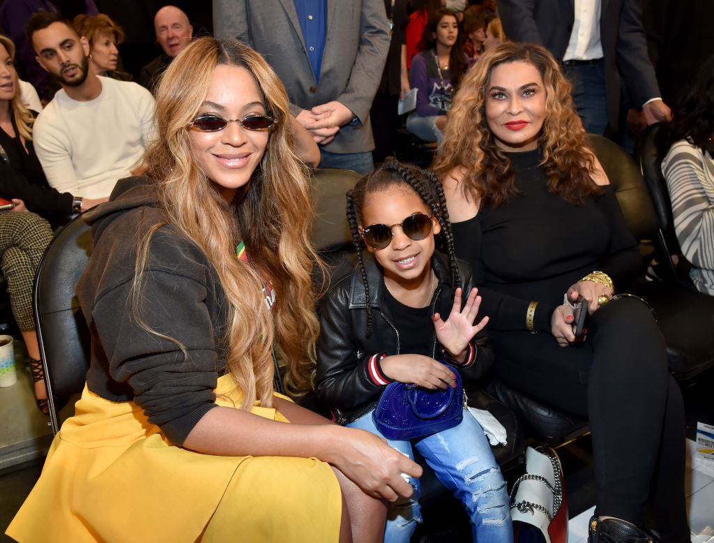 Blue Ivy telling her Grandma Tina Knowles-Lawson to stop taking Instagram videos at the ballet is gold