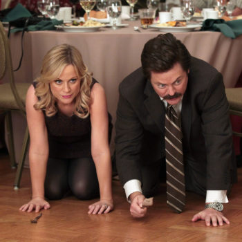 Amy Poehler and Nick Offerman are down for a <em>Parks and Rec</em> revival — but only if Beyoncé plays the mayor of Pawnee
