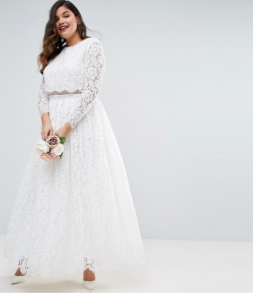 14 Affordable Plus-Size Wedding Dresses That Cost Under $400 ...