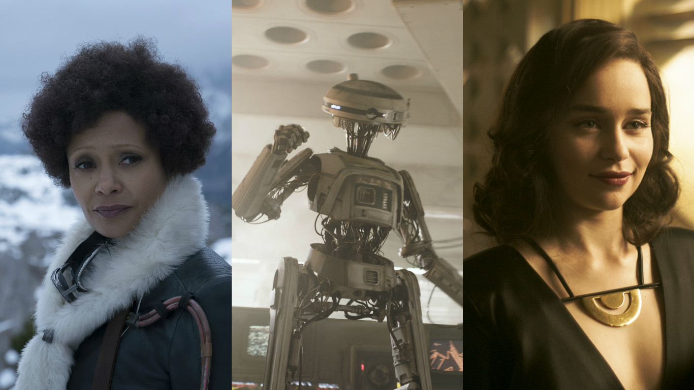 <em>Solo's</em> fatal flaw is the fact that it has no idea how to handle its three female leads