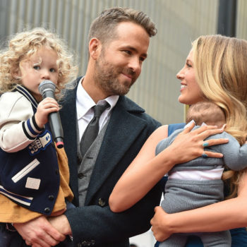 Ryan Reynolds revealed the reason he named his daughter James, and pass the tissues