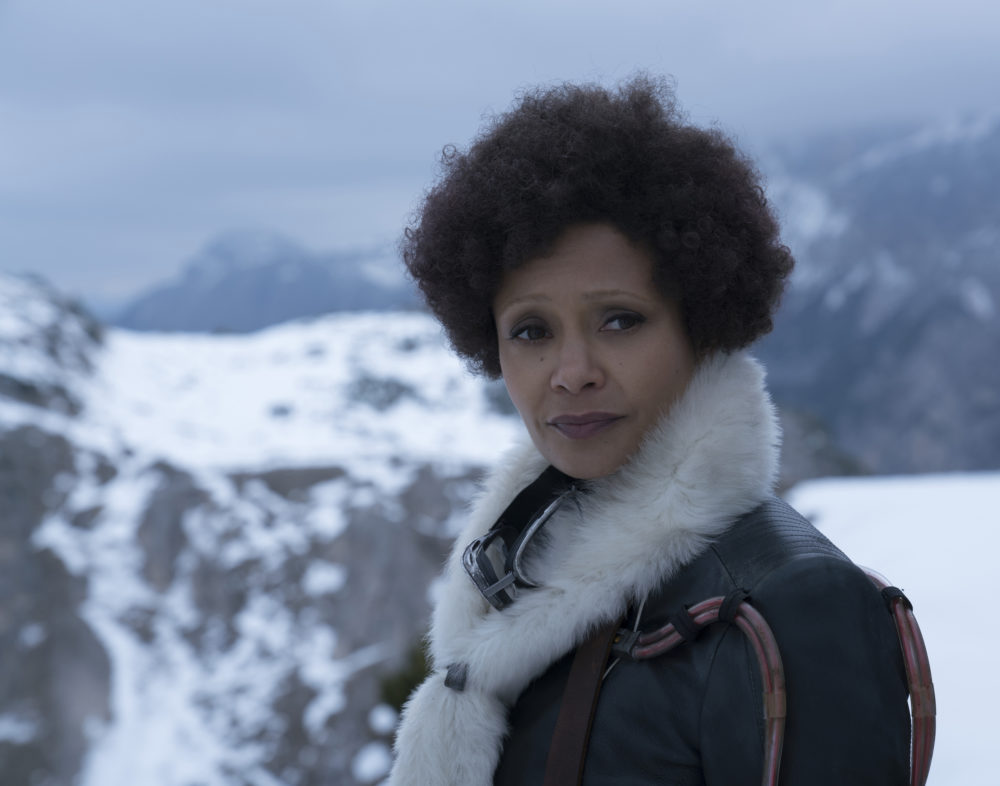 "Thandie Newton signs onto films for the ""complete experience"" — and that's why she's okay with what happens to Val in <em>Solo</em>"
