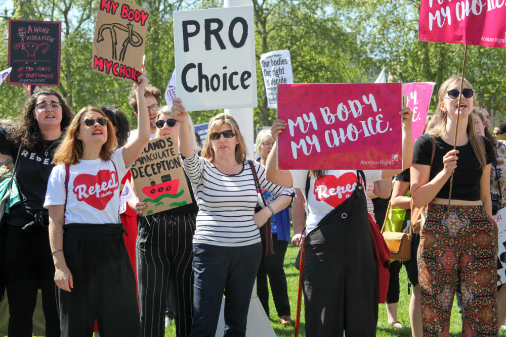 The people of Ireland just voted to repeal a decades-long abortion ban — according to exit polls