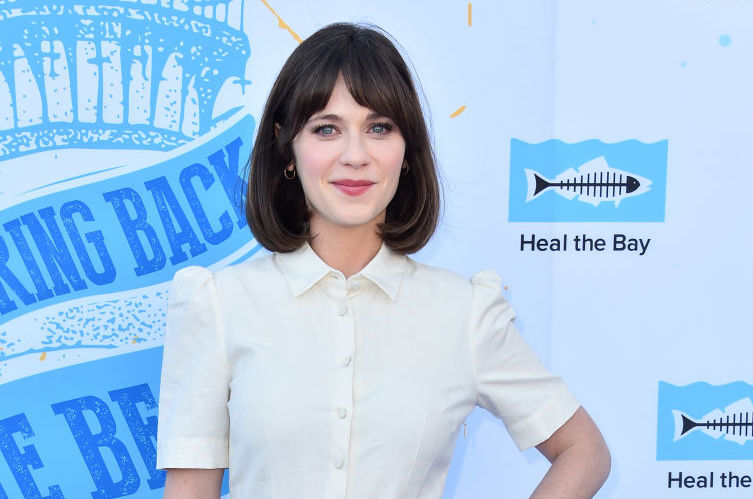 Sacré bleu! Zooey Deschanel looked just like a Disney Princess in her starring role as Belle at the Hollywood Bowl