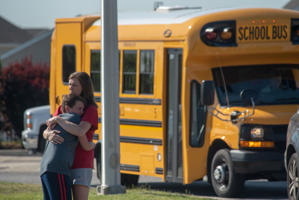 This middle school science teacher is being hailed a hero for stopping the Noblesville school shooting