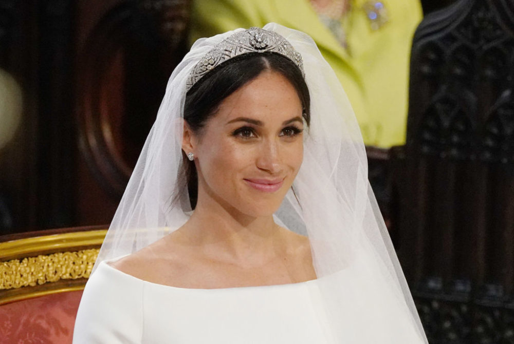 Meghan Markle wore the gothic version of her wedding dress to her latest royal appearance
