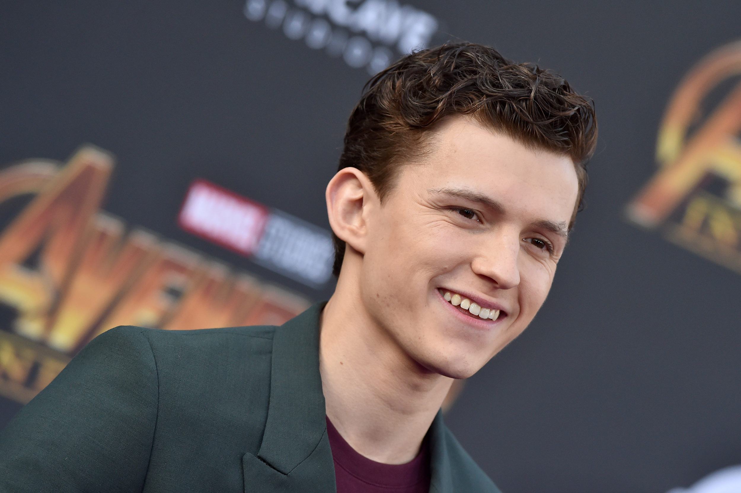 A Tom Holland fan recreated his <em>GQ</em> photoshoot shot for shot, and they're basically twins