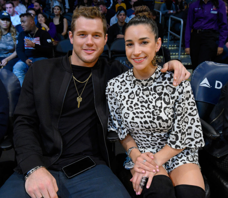 So, Aly Raisman's ex-boyfriend is a contestant on <em>The Bachelorette</em>