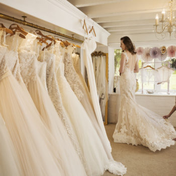 8 wedding dress shopping hacks for the bride who has no time to waste