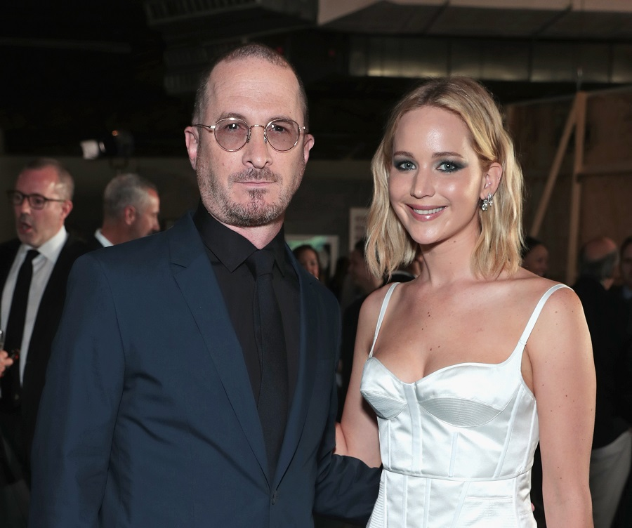 Jennifer Lawrence reunited with Darren Aronofsky, proving that exes can definitely be friends
