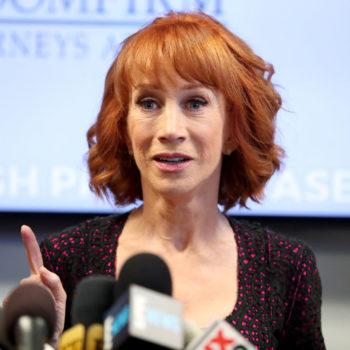 """Kathy Griffin says Donald Trump's abuse of power escalated her photo scandal: """"Trump is the most powerful news director"""""""