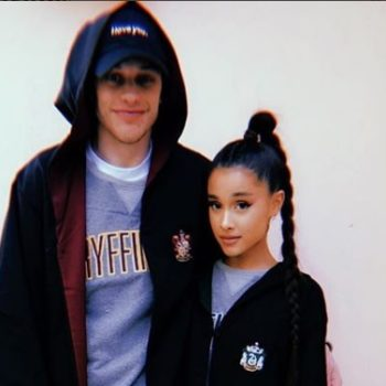Stop everything: Ariana Grande and Pete Davidson just posted their first public kiss pic