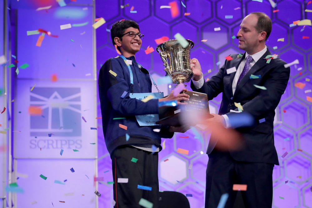 A 14-year-old Texan won the 2018 Scripps National Spelling Bee with a word you've probably never heard before