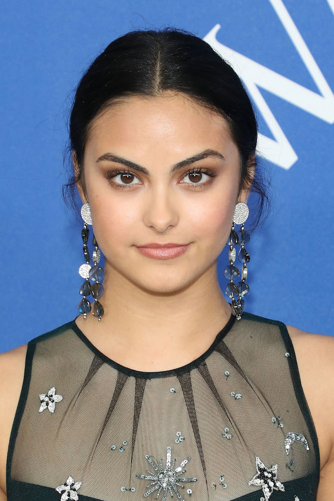We're starry-eyed over Camila Mendes' celestial dress at the 2018 CFDA Awards