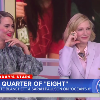 Sarah Paulson and Cate Blanchett cannot keep their sh*t together during an interview, and it's what we all deserve