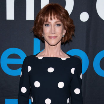 Kathy Griffin received a supremely deserved award for LGBTQ activism, and go, girl!