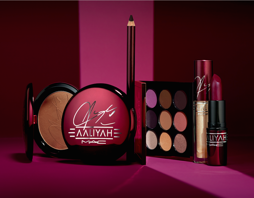 "Here's everything from the Aaliyah for MAC collection that will have you looking ""hot like fire"""