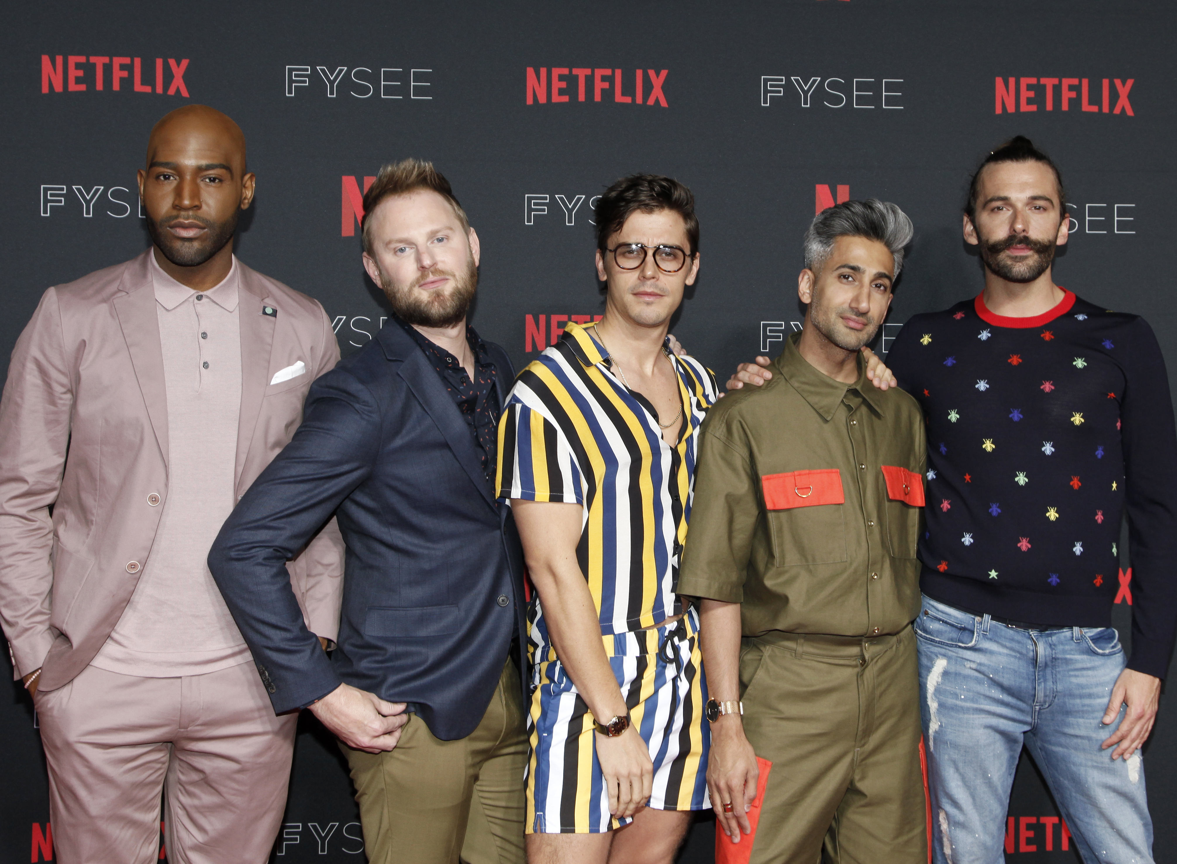 Bow down to this royalty: the <em>Queer Eye</em> guys were just *officially* crowned Yass Queens