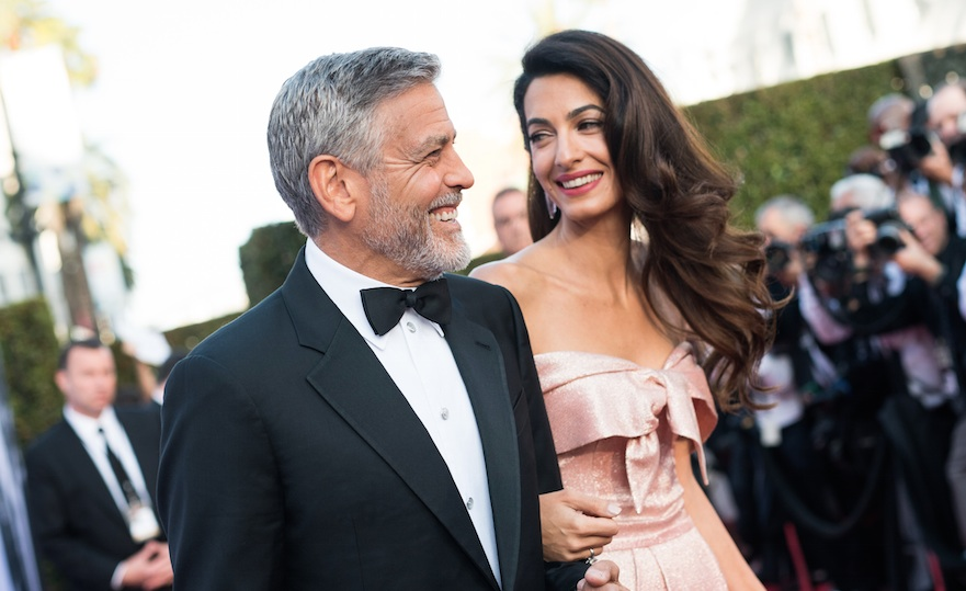 Amal Clooney just revealed never-before-heard details about when she and George were dating