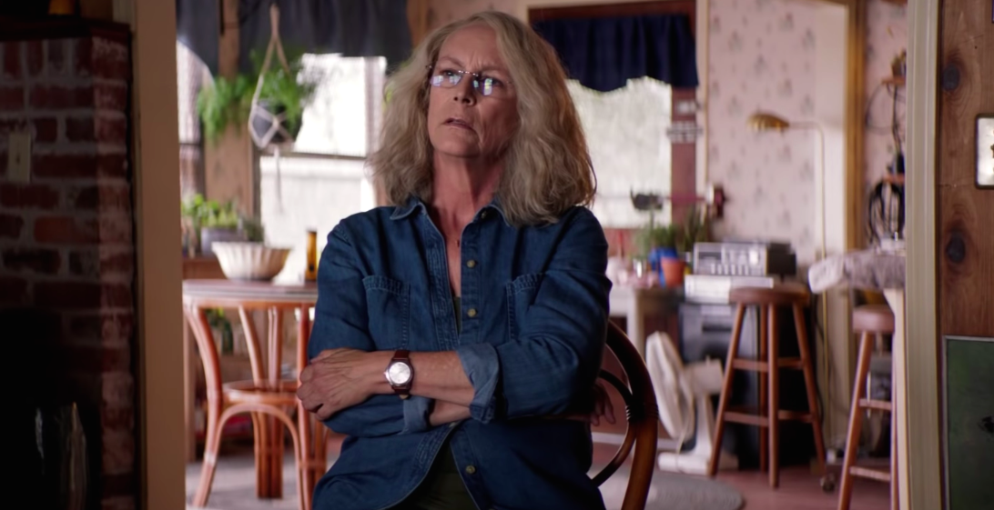 40 years later, Jamie Lee Curtis is still as badass as ever in the first trailer for the <em>Halloween</em> sequel