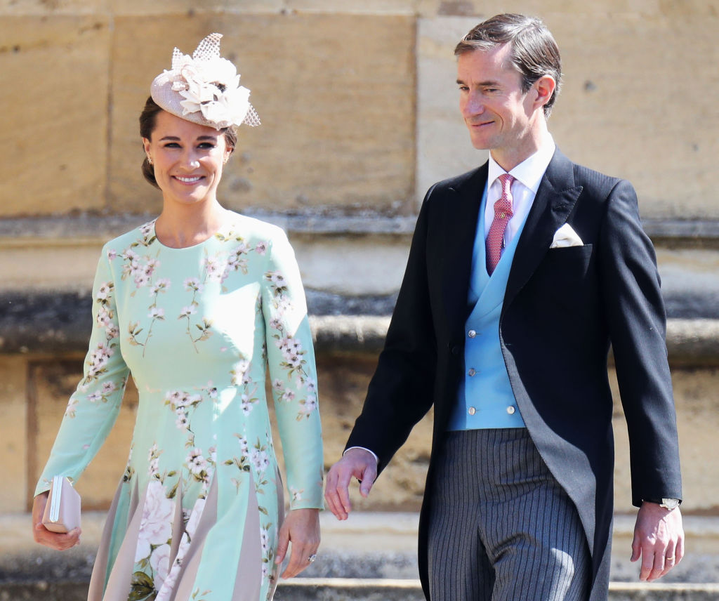 Pippa Middleton very casually confirmed she's pregnant in a magazine column about exercising when you're expecting