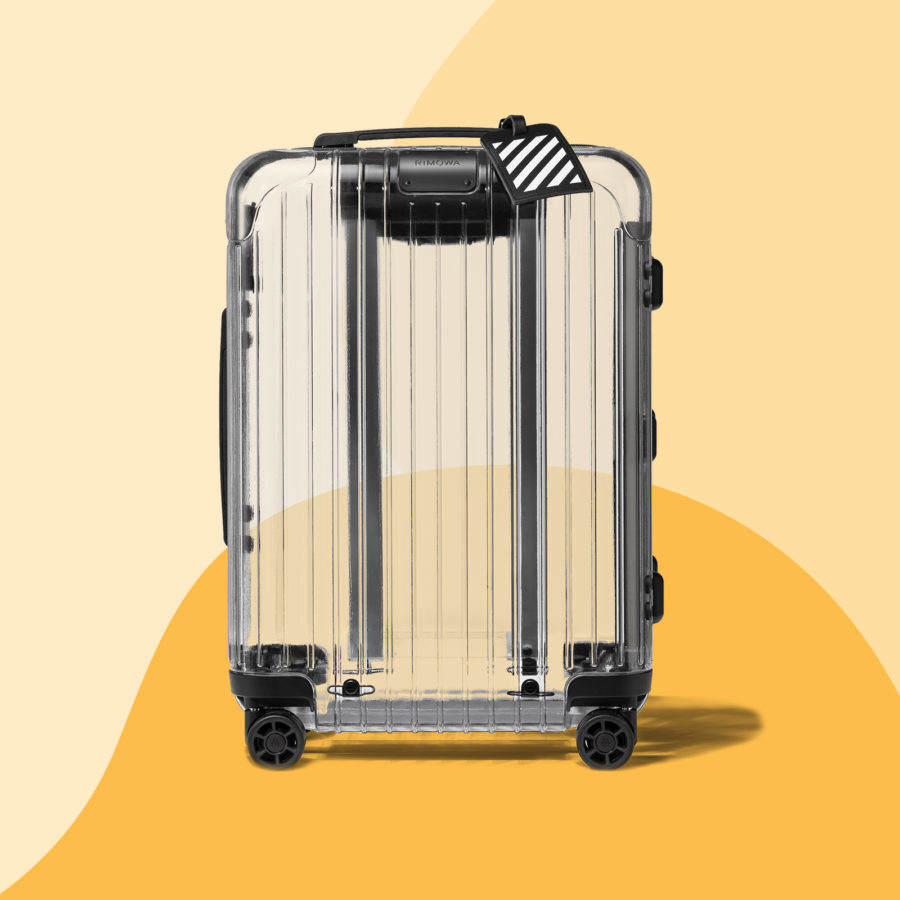 Clear carry-ons are now a thing, and surprisingly chic