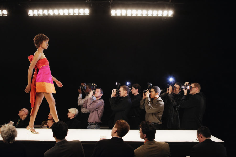 A fashion show replaced models with drones, because the future is now