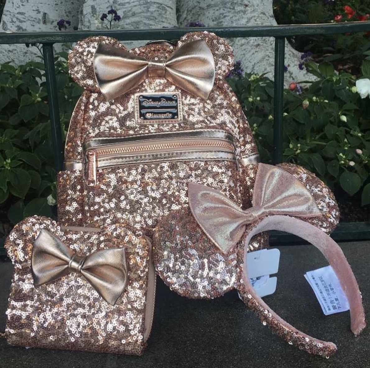 Disney now sells rose gold Minnie Mouse backpacks — and so sorry, they sold out in less than a day