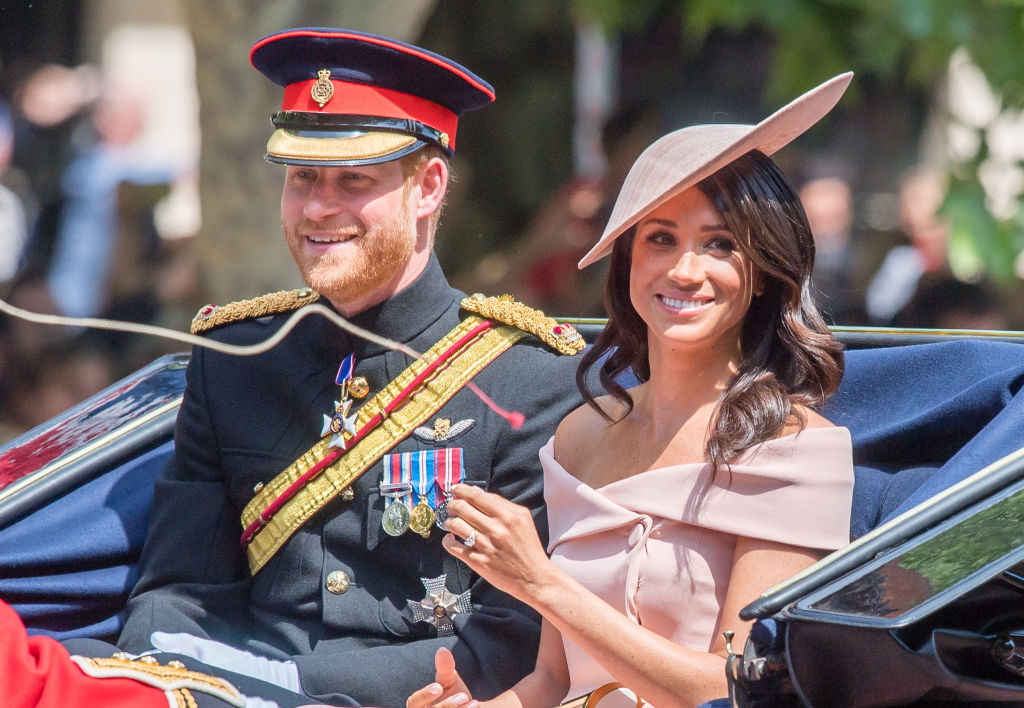 Meghan Markle's off-the-shoulder Trooping the Colour dress is the perfect summer frock, and you can get her look for less