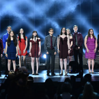 A group of Parkland survivors gave a surprise performance at the 2018 Tony Awards