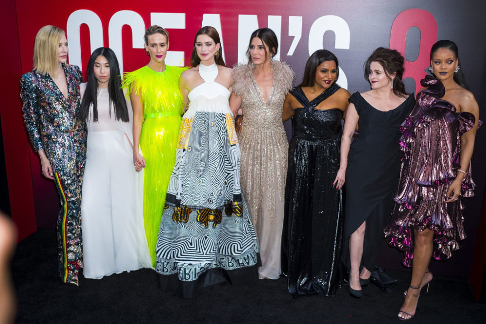 <em>Ocean's 8</em> crushed expectations at the box office this weekend, and duh